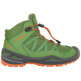 Lowa Robin GTX QC Shoes Kids green/orange